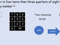 Interactive mental fractions EVALUATION COPY