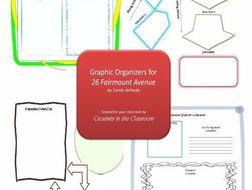 Graphic Organizers Plus Crossword Puzzles  for 26 Fairmount Avenue