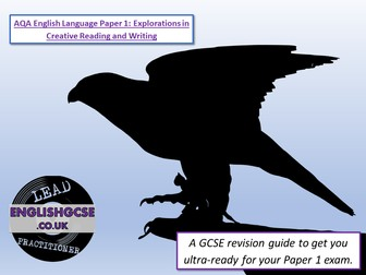 AQA Language Paper 1 Revision Pack