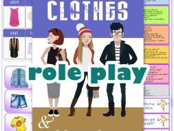 At the Clothes shop Role Play