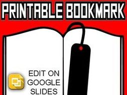printable bookmark templates editable in google slides by rombop