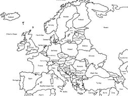 Color the Map of Europe