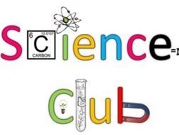 Science Club Plan