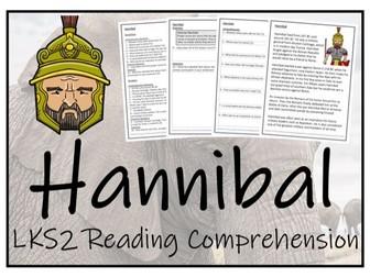 LKS2 History - Hannibal Reading Comprehension Activity