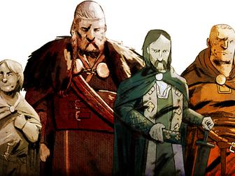*Updated* Rivals for the Throne 1066: William, Duke of Normandy, Harold Godwinson, Harald Hardrada