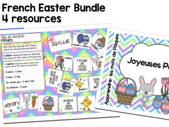 French Easter Paques Bundle