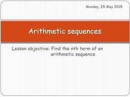 IB Applications and Interpretations - Arithmetic sequences