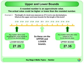 Upper and Lower Bounds KS4