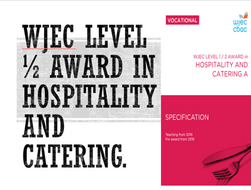 WJEC Hospitality & Catering Lv1/2, LO1