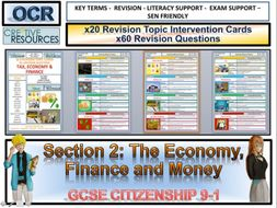 Economy Money & Finance  Revision