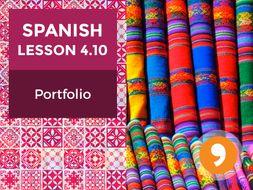 Spanish Lesson 4.10:  El Arte de Colombia - Portfolio