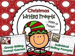 Christmas Writing Prompts.Writing Prompts With A Twist