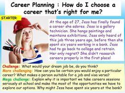 Careers : Planning