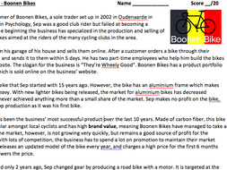 a level ib business case study the marketing mix 4 ps