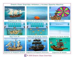 Antonyms-and-Opposite-Actions-Spanish-Treasure-Hunt-Interactive-PowerPoint-Game.pptx