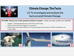 Climate Change - The Facts (PPT only)