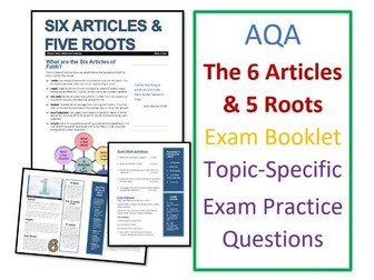 AQA Islam Beliefs: Six Articles of Faith and Five Roots - Exam Booklet