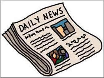 The Newspaper - a cross curricular unit