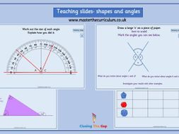 year 6 geometry shapes and angles teaching slides for white rose