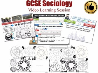 Video Learning Session - The Sociology of Crime & Deviance L20/20 [ AQA GCSE Sociology - 8192]