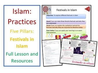 Islam: Practices - Festivals, including Eid ul-Fitr, Eid ul-Adha and Ashura - Whole Lesson