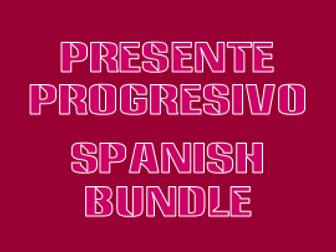 Presente progresivo (Present progressive in Spanish) worksheet 1 by ...