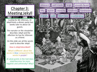 Jekyll and Hyde Chapter 3