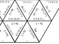 Linear Sequences - nth Term - Tarsia Jigsaw