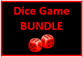 Vocabulary Dice Game Bundle