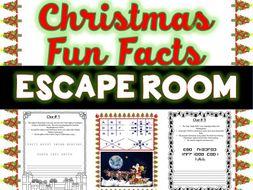 Christmas Fun Facts.Christmas Fun Facts Escape Room