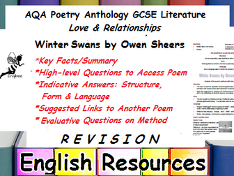 Winter Swans Revision