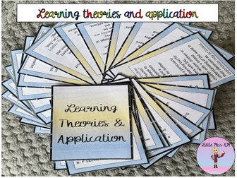 Learning Theories and classroom application