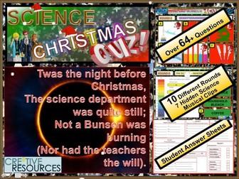 Science Christmas Quiz 2018