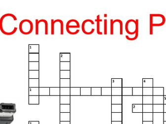 Connecting peripherals crossword