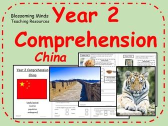 Year 2 comprehension - China