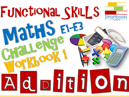 Functional Skills Maths - Challenge Workbook 1 - Addition