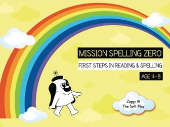 27. Phonics And Spelling Practice: Zoggy At The Soft Play