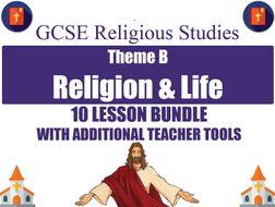 Religion & Life (10 Lesson Unit) (AQA GCSE Religious Studies)