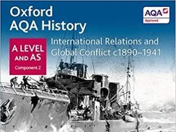 Outbreak of WW2 Essay (Level 5) - AQA A Level History Component 2K:  International Relations