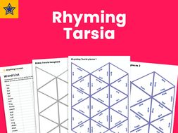 KS2 Grammar Game: Verb Synonym Tarsia Puzzle