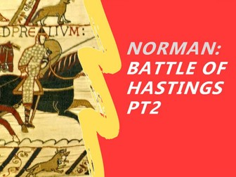 Battle of Hastings, revision game