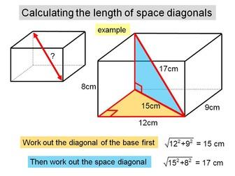 Pythagoras 3D problems