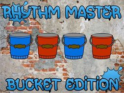 Rhythm Master Bucket Drumming Edition