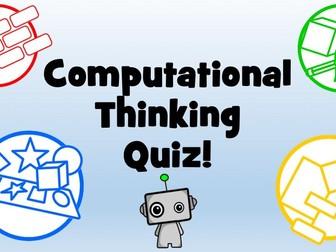 KS3 Computational Thinking Starter Quiz