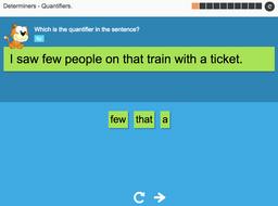Quantifiers - Interactive Activity - KS3 Spag