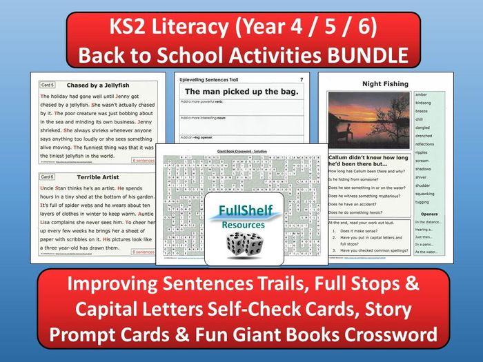 sc 1 st  Tes & Back to School Literacy (KS2) by FullShelf - Teaching Resources - Tes 25forcollege.com