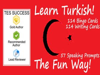 Learning Turkish Fun Teaching Bundle