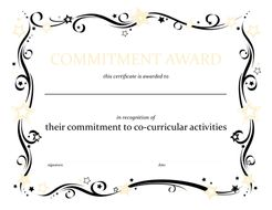Bronze, Silver and Gold award certificates by dangower45