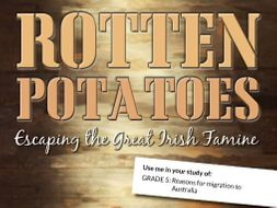 Irish Potato Famine Resource Bundle