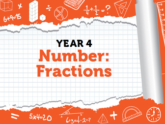 Year 4 Fraction Bundle - Spring